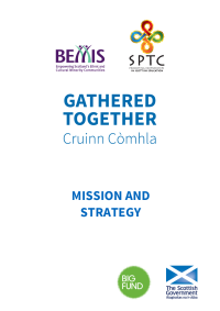 Gathered Together Strategy Document
